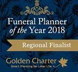 golden charter regional finalist logo