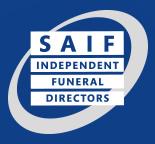 SAIF independant funeral directors logo